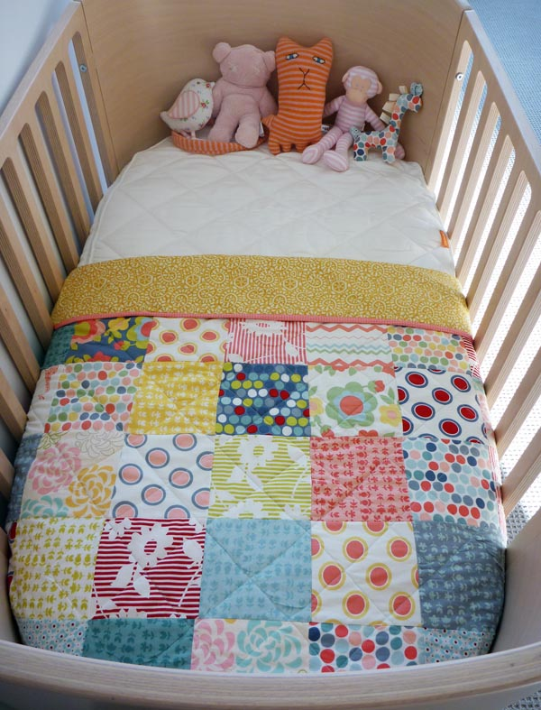 The story of a patchwork quilt… : cot quilt designs - Adamdwight.com