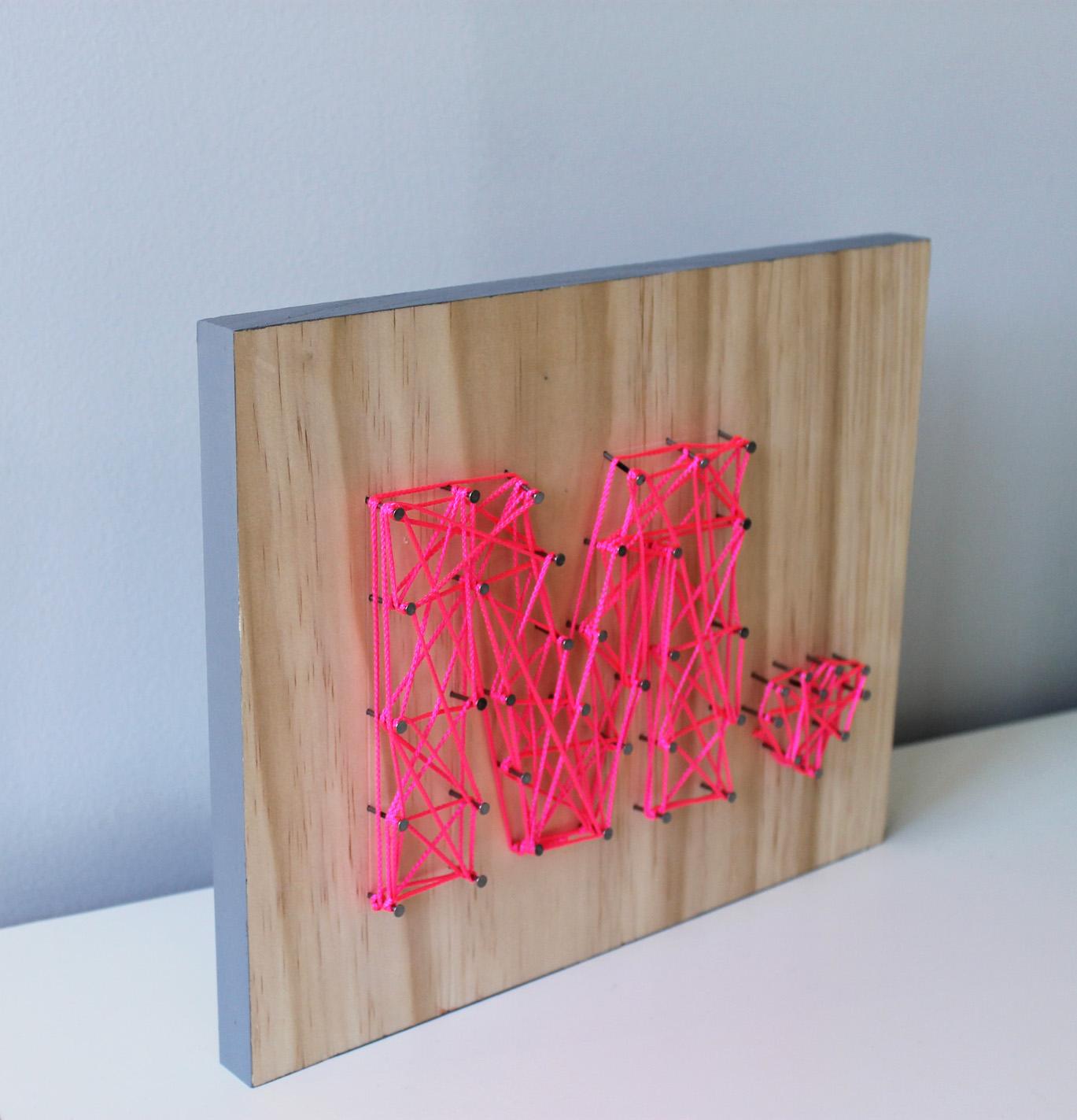 Room Ideas For Guys Diy Easy String Art
